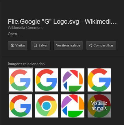 Google Remove Opção Ver Imagem do Google Images