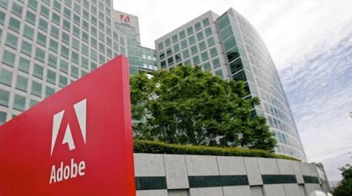 Foto da sede da Adobe