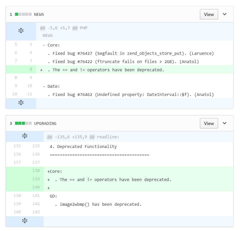 Captura de tela do commit no Github