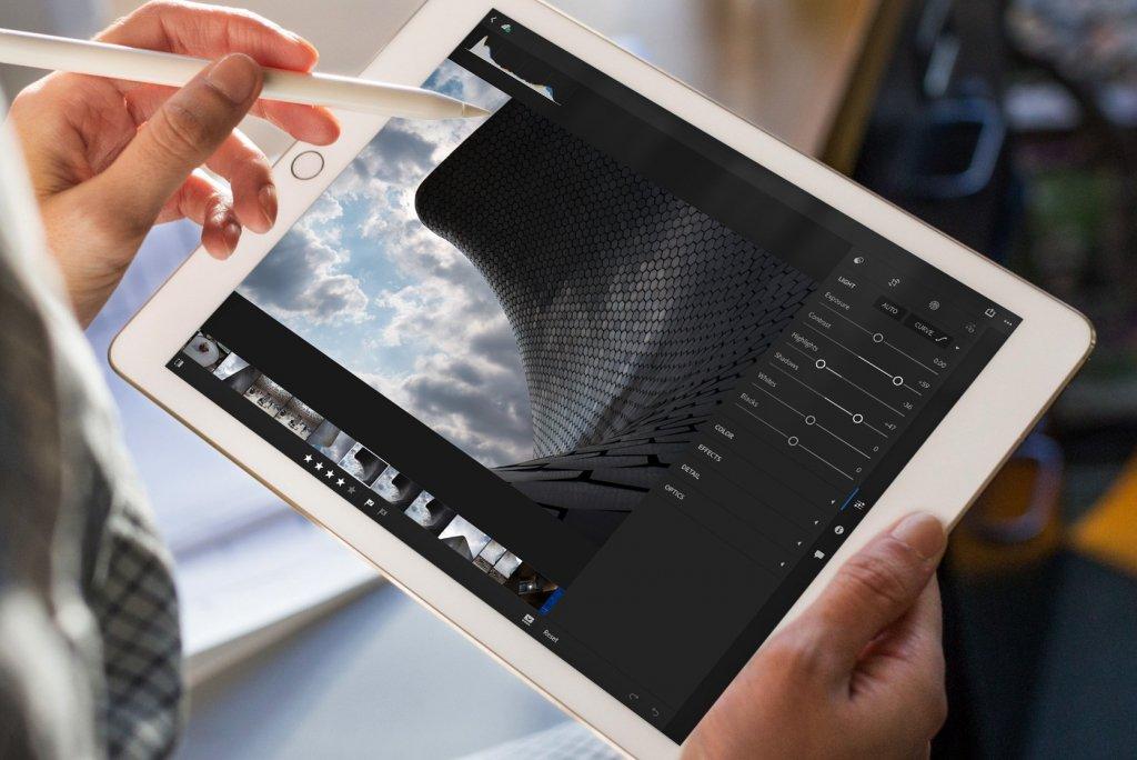 Lighroom para iPad