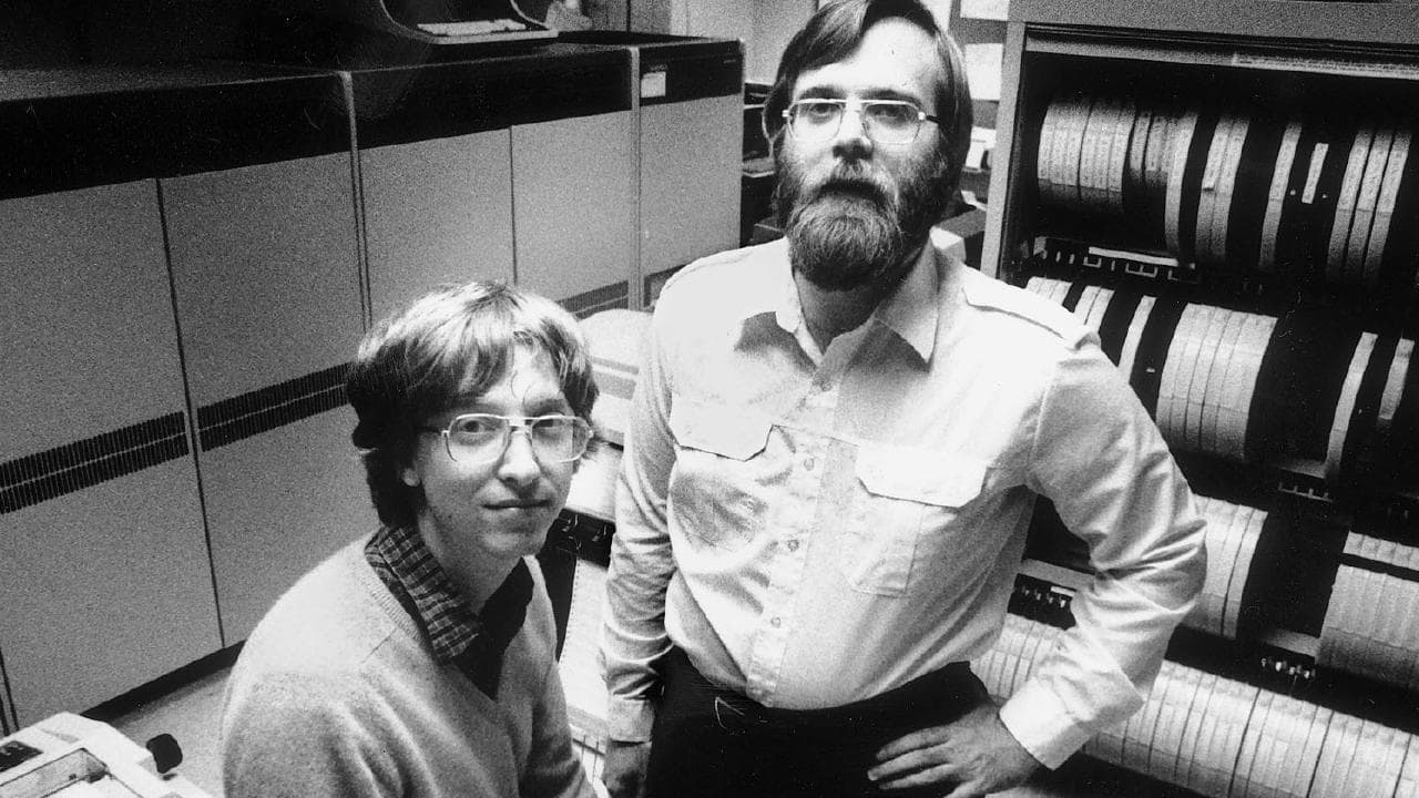 Bill Gates e Paul Allen