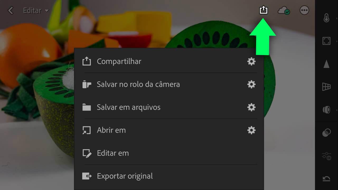 Exportar foto