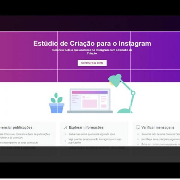 Facebook libera ferramenta para publicar no Instagram direto pelo navegador